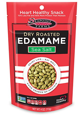 Roasted edamame beans on Amazon