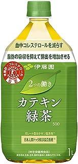 [トクホ]伊藤園 2つの働き カテキン緑茶 1L ×12本入×2ケース 24本