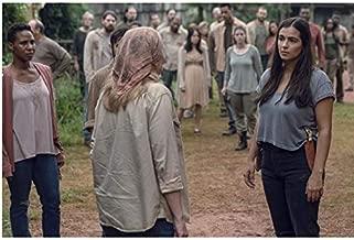 Walking Dead Alanna Masterson as Tara with Brett Butler as Tammy Rose 8 x 10 Inch Photo