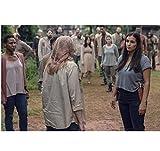 Walking Dead Alanna Masterson as Tara with Brett Butler...