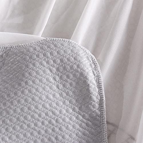 CYYyang Funda de colchón Anti chinches, Transpirable, Sábana Impermeable Jacquard Otoño/Invierno-71x132 + 20cm