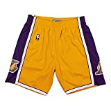 Mitchell & Ness Los Angeles Lakers 2009 Throwback Swingman Shorts (X-Large)