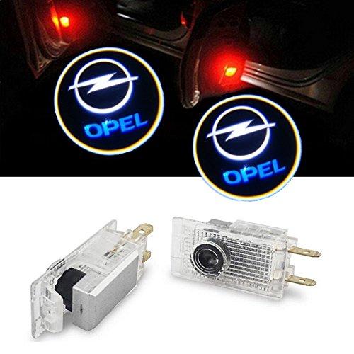 GEEANDLY 2 piezas logotipo Proyector de Puerta de Coche proyector Bienvenido Lámparas