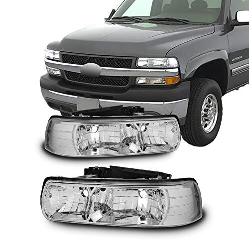 01 silverado euro headlights - 1