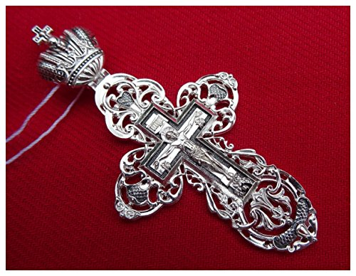 ☦ GroBe Kreuz Kruzifix orthodoxer Don Leben und Auferstehung von der Krone Kaiser überwunden DM104