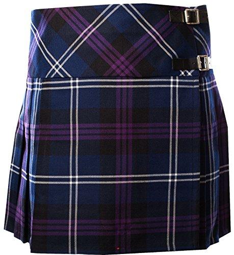 Ladies Deluxe Billie Kilt-Skirt Tartan Heritage of Scotland Tartan 20
