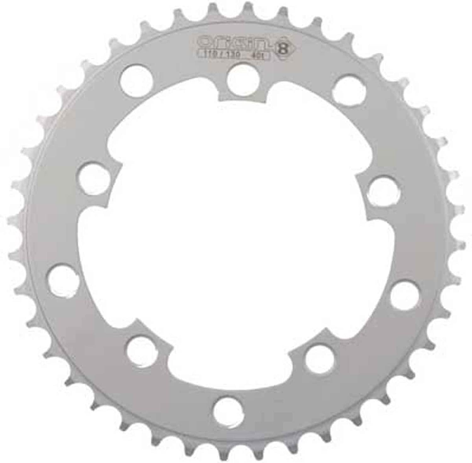 Origin8 BMX   Singlespeed   Fixie Chainring, 40t, 110 130 BCD, 3 32, Silver