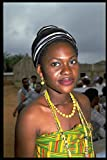 464017 Ashanti Woman In Traditional Dress Ghana Africa A4