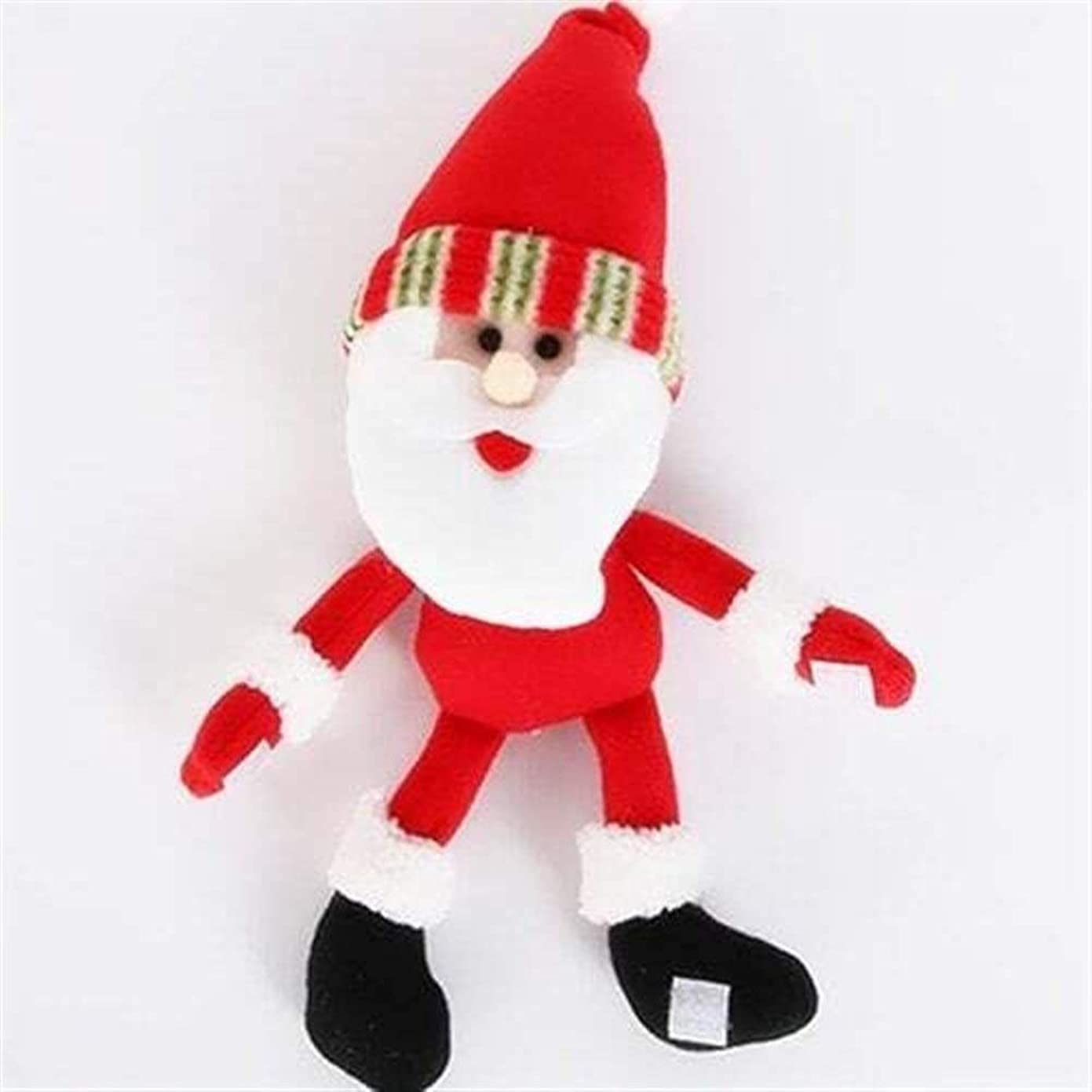 テーマ意識的代わりのサンタワインボトルカバー クリスマスの飾り かわいい ぬいぐるみ 人形 シャンパンボトル バー レストランの装飾 サンタ 雪だるま おもちゃ 小道具 精霊 パーティー用品 小道具 (Color : Multi-A)