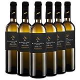 Martúe Blanco Nieva Sauvignon Blanc Vino Blanco D.O. Rueda - 6 Botellas x 750 ml (2019, 6)