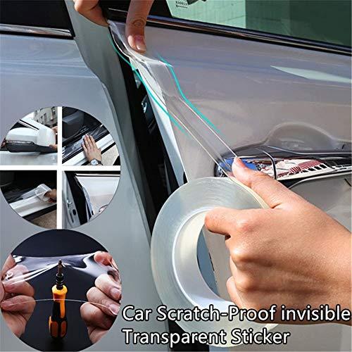 Ggaggaa Auto Stoßstange Schutzfolie Türgriff Film Kratzfeste Folie Körper Transparenter Schutz