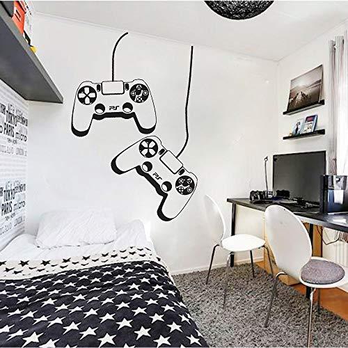 HGFDHG Spieler P Controller Wandtattoo Vinyl Wandaufkleber für Kinderzimmer Spielzimmer Haus Dekoration Wallpaper