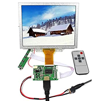 VSDISPLAY 8 inch EJ080NA-05A LCD Screen 8  800x600 Display Monitor Work with HD-MI LCD Controller Driver Board