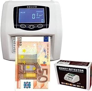 comprar comparacion Detector de billetes falsos contador nuevos billetes detecta y cuenta 2 en 1