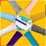 Thicken Braid Thread Juego de protector de cubierta de riel de cuna para bebé protege de la masticación Protector de dentición acolchado para cuna, El parachoques cuna protege de las marcas mordeduras