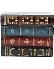 Nep boekendoos, opslag decoratieve boekendozen Vintage decoratieve nep boek opbergdoos, voor geheime verborgen thuis boekenplank moderne simulatie geheugen boekendoos