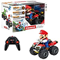 Carrera- 2,4GHz Kart, Mario-Quad Juguete con Control Remoto, Multicolor (Stadlbauer 370200996)