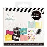 American Crafts - Schede e divisori per Memorydex, Confezione da 100 Pezzi, Multicolore