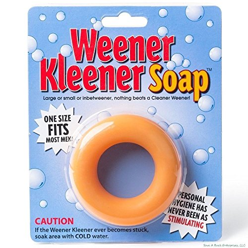 Awesome Shopper 1x Weiner Weener Cleaner Soap