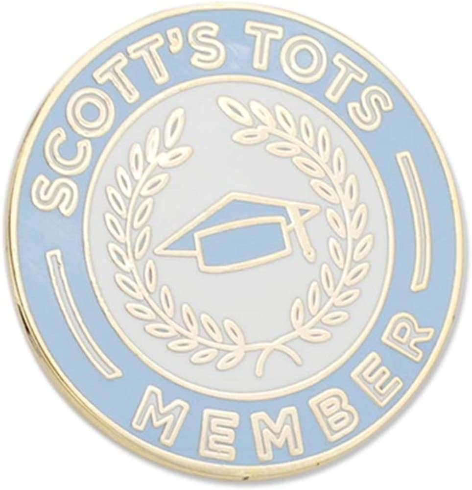 WizardPins Scott's sold shopping out Tots Membership Lapel Enamel Pin