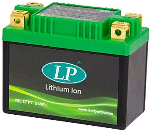Accossato ML LFP7-275 Batteria al Litio per Piaggio Vespa PX X, 150