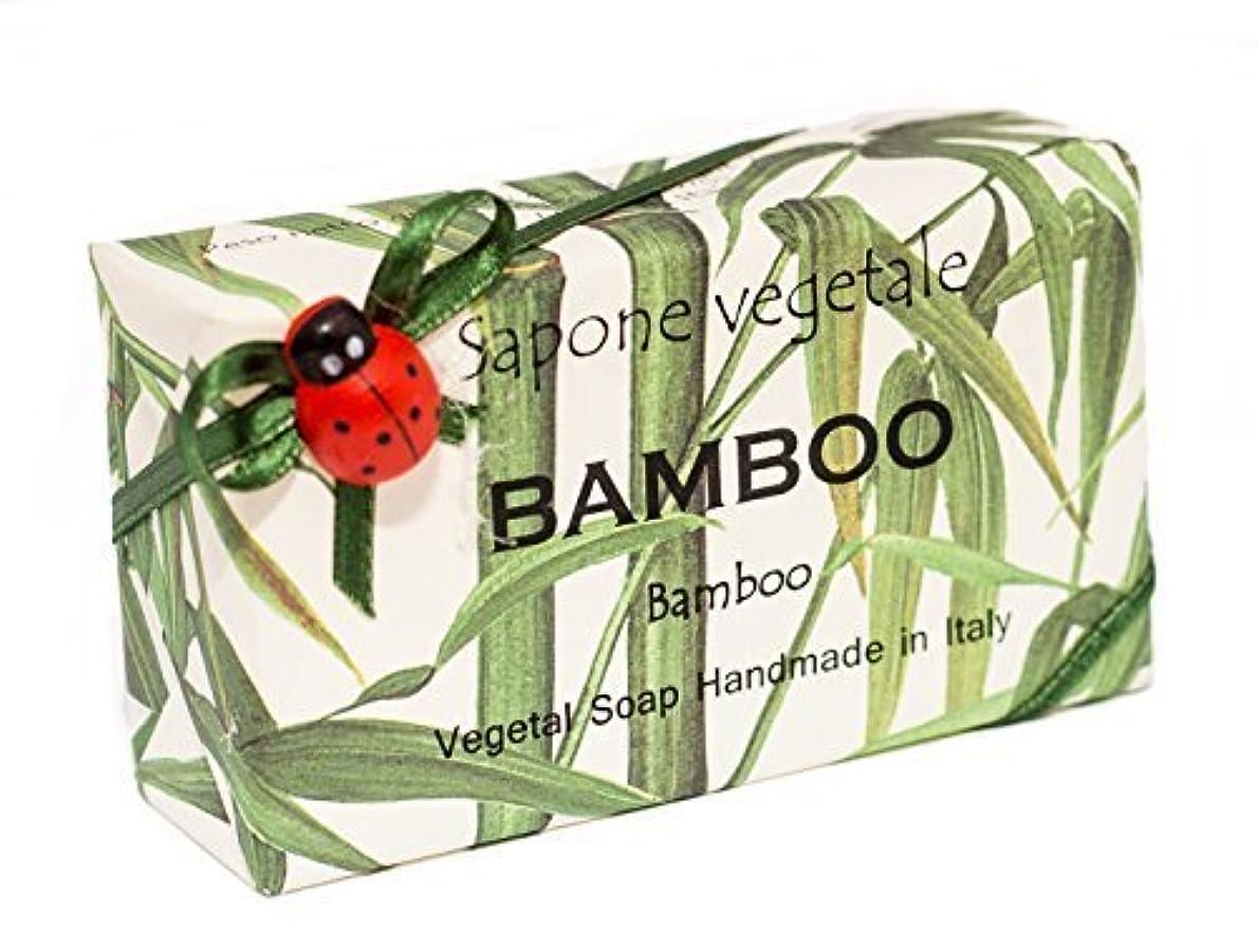 床炭水化物プライムAlchimia 高級ギフトボックス付きイタリアから竹、野菜手作り石鹸バー、 [並行輸入品]