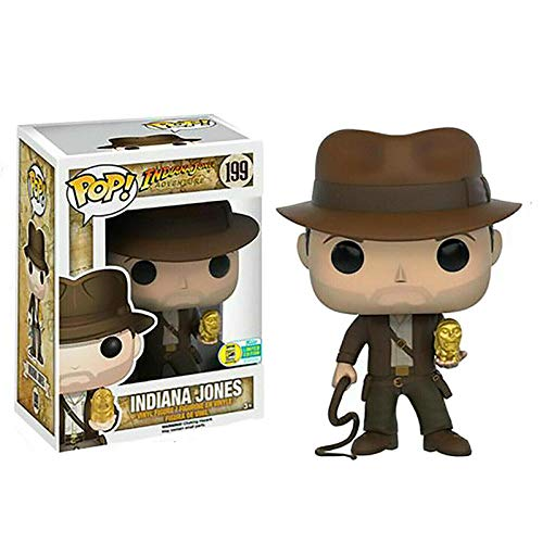 Funko - Raiders of The Lost Ark y Jones Pop Figuras de Juguete de Modelos coleccionables para ninos Caja