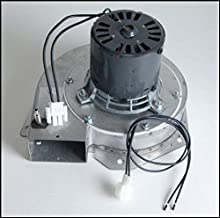 Enviro Pellet Stove Exhaust Combustion Motor w Housing & Gasket - 10-1115 G
