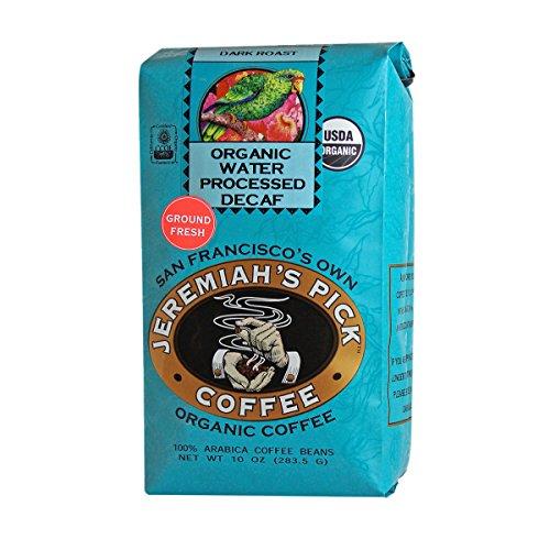 Jeremiah's Pick Coffee Organic Dark Roast Decaf