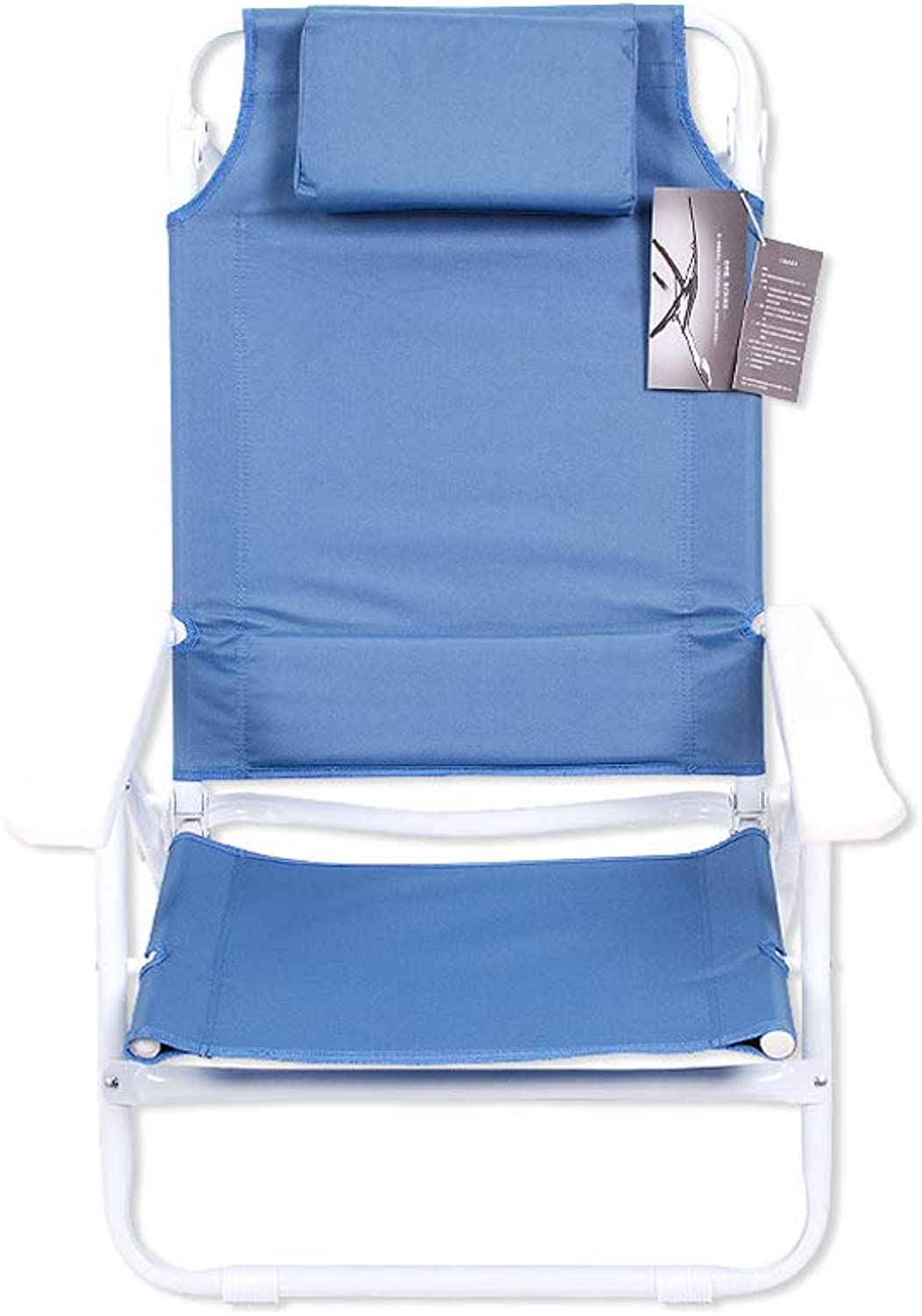 Simple Office Folding Chair Lunch Break Recliner Aluminum Alloy Portable nap Bed