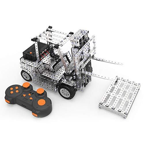 Forklift Building Kit for Kids Adults,Remote Control STEM Learning Educational Science Building Toys for Kids Ages 10+ Year Old(1450pcs)