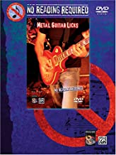 No Reading Required: Metal Guitar Licks [Reino Unido]