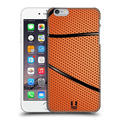 Head Case Designs Baloncesto Colección de Bolas Carcasa rígida Compatible con Apple iPhone 6 Plus/iPhone 6s Plus