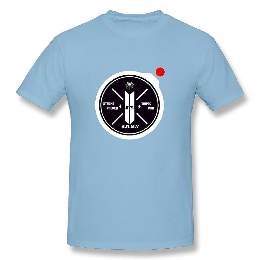 ATIWING BTS J V SUGA JUNG Jimin Logo Short Sleeve Cotton T-Shirt Shirt for Men