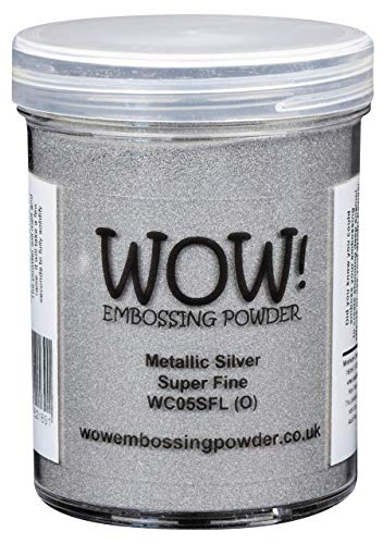 WOW! Metallic Zilver Super FINE Embossing Poeder - Grote 160ml JAR