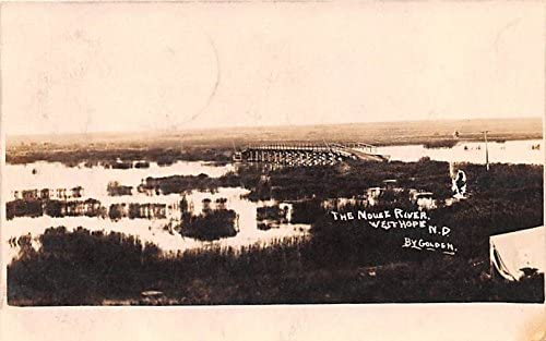 The Moust River West Max 80% Price reduction OFF Hope Dakota North postcard
