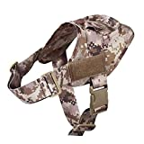 S Acu Military Tactical Dog Harness Patrol K9 Working Pet Collar Small Large Dog Harness Service Dog Vest With Handle Pet Products