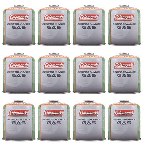Coleman 12 x C500 Schraubkartusche 440g Ventil Gas Kartusche Kocher Butan Propan