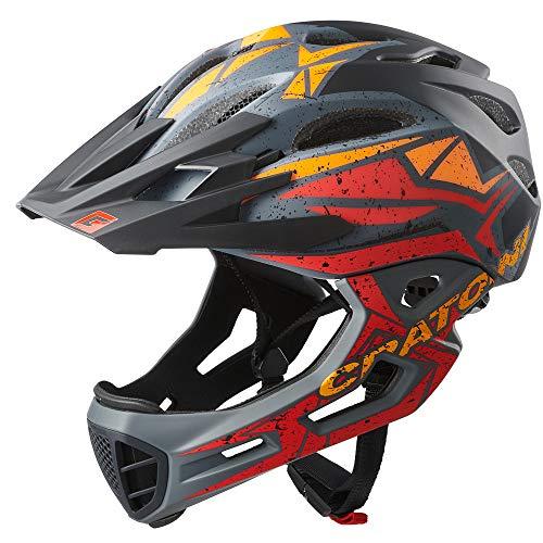 Cratoni C-Maniac Pro - Casco de ciclismo para bicicleta (58-61 cm), color...