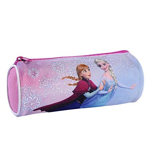 Disney Frozen Poche Supplémentaire Fourre-Tout Rond, (Rose)
