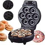 GCE Mini Donut Maker máquina de electrodomésticos para moldear Donuts pequeños con Masa Chocolate para Hornear glaseado y más sabores