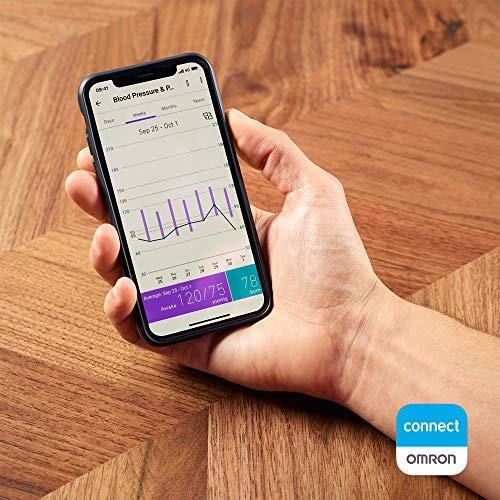 51VJHZdy37L - Omron Tensiómetro X7 Smart, monitor para la presión arterial con detector de AFib y Bluetooth, para el hogar y, compatible con dispositivos iOS y Android