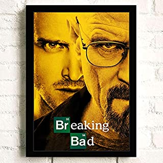 Breaking Bad TV Show Poster Prints Wall Art Decor Unframed,16.5