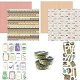 Country Kitchen Scrapbooking-Kit - Kochen & Küche Collection Kit - Schaumstoff & 3D Aufkleber –...