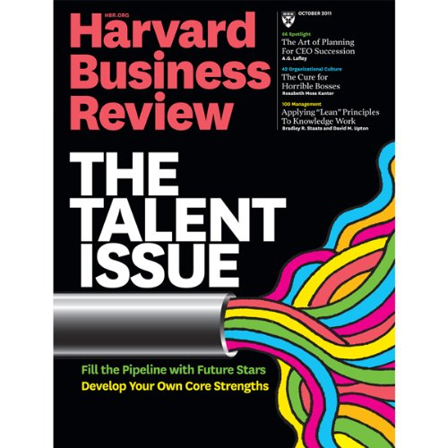 Harvard Business Review, October 2011 audiobook cover art