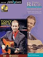 Tony Rice - Guitar Bundle Pack: Tony Rice Teaches Bluegrass Guitar (Book/CD Pack) with Tony Rice Master Class (DVD)