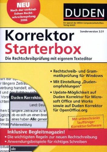 Duden - Korrektor Starterbox Sonderversion 3.51