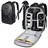 Endurax Camera Backpack Waterproof for DSLR SLR Photographer Camera Bag for Mirrorless Camera with Hardshell Protection Upgrade
