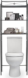 Sorbus Bathroom Storage Shelf Over Toilet Space Saver, Freestanding Shelves for Bath Essentials, Planters, Books, etc