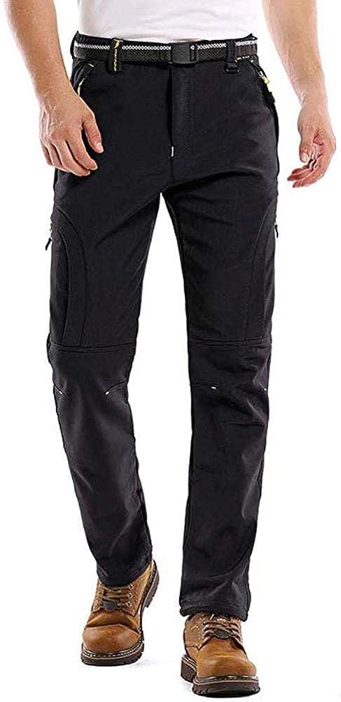 Men's Winter Pants Water Resistant Ski Elegant Fleece Lined Snowboard low-pricing Pa